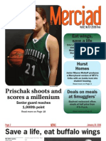 The Merciad, Jan. 28, 2009
