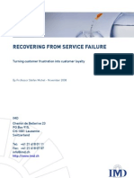 Recovering From Service Failure (IMD Business School)