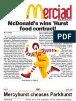 The Merciad, April 1, 2009
