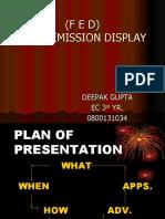 Field Emission Display