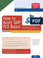 Audit SAP Basis