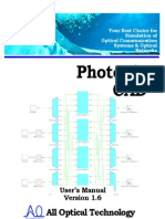Photonics CAD Manual