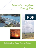 Ontario Ministry of Energy Long Term Energy Plan 2010-2030