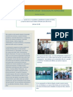 Informe Misionero Honduras Hno Geovanny Diciembre de 2010