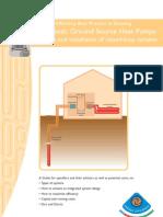 Domestic Ground Source Heat Pumps