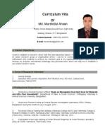 CV-DR. Md. Murshidul Ahsan