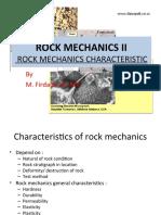 Rock Mechanics II