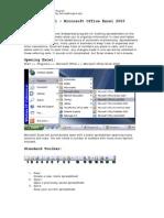 Tutorial – Microsoft Office Excel 2003