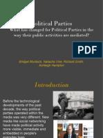 Group D Political Parties