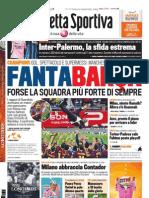 Gazzetta dello Sport - 29 Maggio 2011
