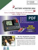 Lead Acid Battery Tester HIOKI 3554