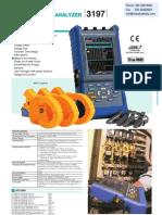 Power Analyser Hioki 3197