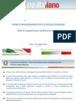 Slides Conferenza Stampa Digitalizzazione Giustizia 24-5-2011
