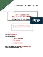 Etude de Projet _universite Virtuelle