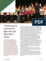 Coro IES Ciempozuelos Reportaje Abril 2010
