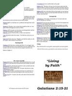 Sermon Notes May 29 2011