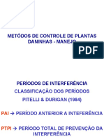 Planta Daninha - MÉTODOS E MANEJO