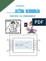 Elektricna Mjerenja - Skripta s Predavanja