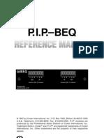 27901 CRO Pip Beq Manual