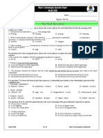 Wase Sample Paper