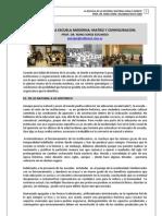 01. LA ESCUELA DEL FUTURO + DEL ORIGEN DE LA ESCUELA MODERNA