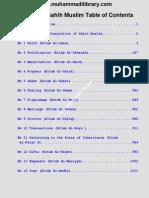 Sahi Muslim Hadis Book