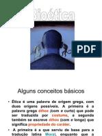Bioética - Aula 1 - Introdução