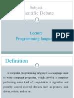 4 Programming Language