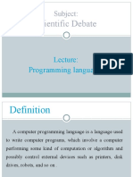 4 Programming Language