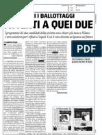 Attenti a quei due, Il Giornale, 29.05.2011