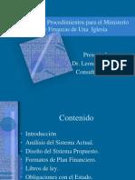 Sistemas y Procedimientos de la Secretaría de Finanzas
