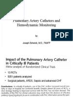 PAC and Hemodynamic Monitoring 2-4-08