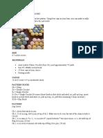 Beercap Hot Pad Crochet