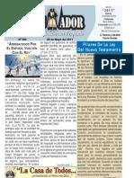 """2011-05-29 Boletín Semanal """"El Conquistador"""""""