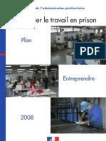 PLAQUETTE- TRAVAIL EN PRISON