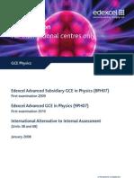 55537148 Edexcel GCE Physics International Specification