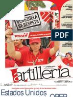 La Artillería. Venezuela. Nº 60 29 de mayo 2011