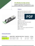 SFP(FT-901B-S-LC20)_DataSheet_ver_1_2