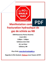 Salisbury Protest Poster - French