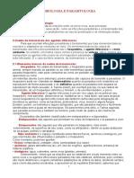 Estudo de Microbiologia e Parasitologia