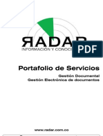 Port a Folio de Servicios - Gestion Documental