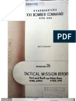 21st Bomber Command Tactical Mission Report 26