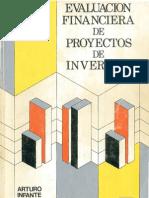 Evaluacion Financier A de Proyectos Inversion