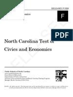 Civics and Economics Eoc Test