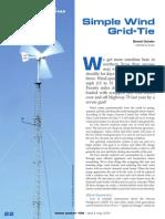 At Last...Simple Wind Grid-Tie