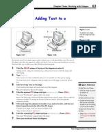 Visio 2003 Add Text Shape