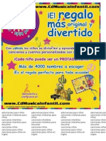 Musica infantil para niños www.cdmusicainfantil.com