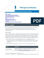 Agile Certification Integrated Services FAQ IT 2011-001 0 _External Version
