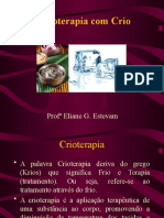 crioterapia + argila