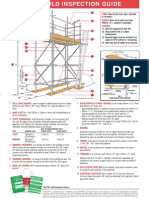Scafolding Inspection Guide